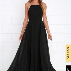 Mythical kind of love black maxi dress lulus
